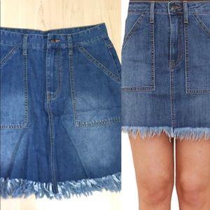 BRAN NEW denim skirt